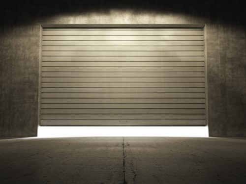 Garage Door Warehouse Storage